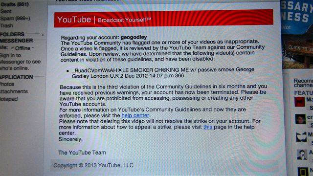 YOUTUBE TERMINATION EMAIL MED DSC00028