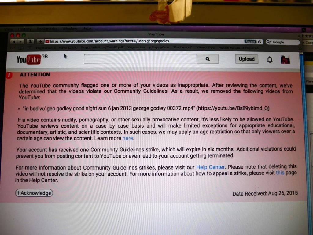 youtube false flag fraud strike in bed w geo godley 26 aug 2015 P1050351