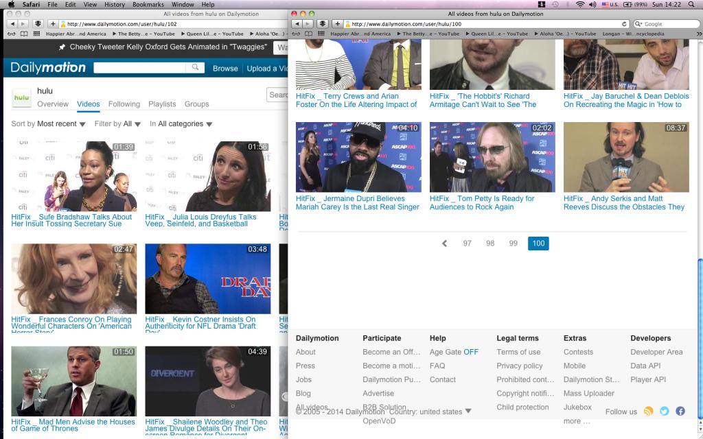 dailymotion hides & steals 200,000 hulu videos Screen shot 2014-05-18 at 14.22.42