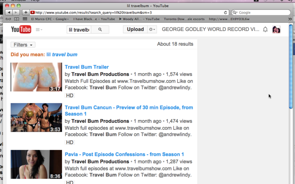 llil travelbum naked ass youtube selective censorship Screen shot 2014-03-25 at 03.34.33
